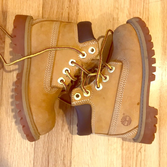 shop best sellers classic style custom Toddler Boys Timberland Boots Size 7